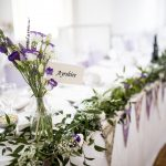 Top Table with florals