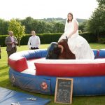 Bucking bronco bride